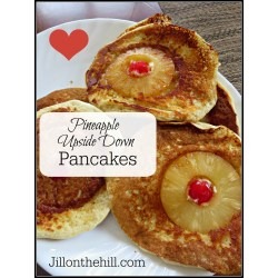 Small Crop Of Pineapple Upside Down Pancakes