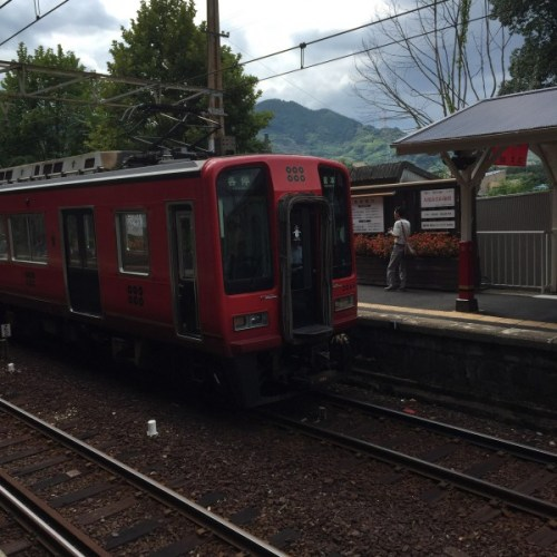 南海 真田赤備え電車