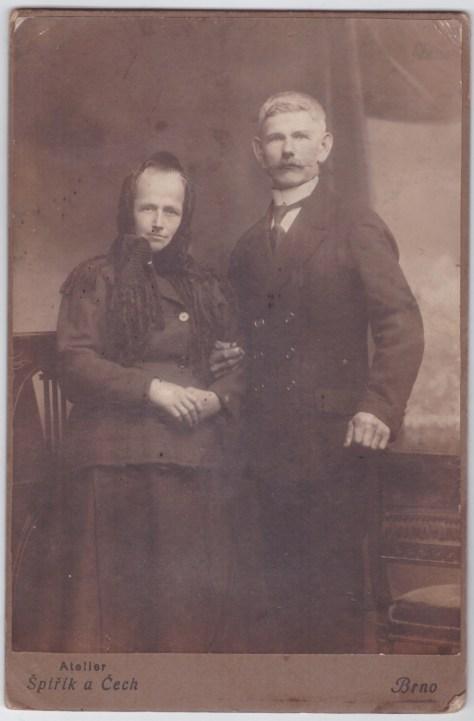 rodiče dědy