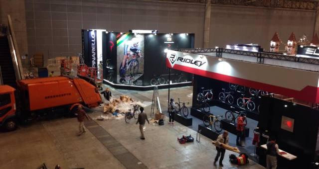 自転車の祭典、サイクルモードに初出展します!