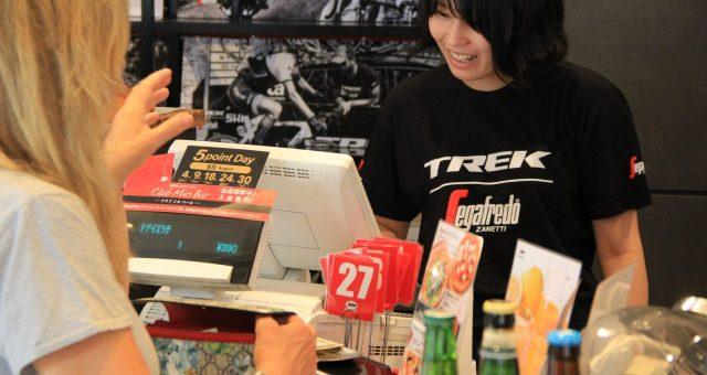 セガフレードとトレックのコラボレーションカフェが、9月3日(土)よりセガフレード広尾店でスタート