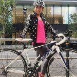 自転車で行く私のヨガスポット ー 東京ミッドタウン