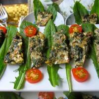 Chard Frittata Appetizer - Seriously Delicious