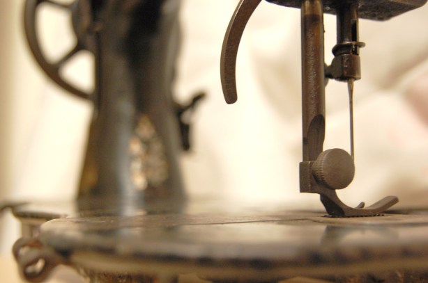old antique vintage singer sewing machine