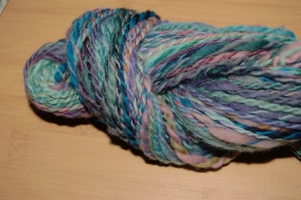 Hand-spun Merino Wool Yarn