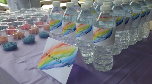 Rainbow Warrior Water Bottles