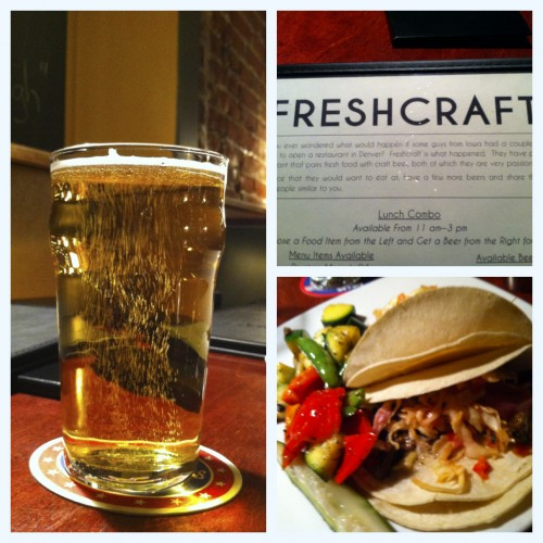 Freshcraft, vegan tacos, Denver