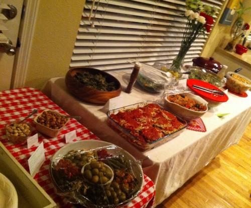 Vegan Italian Potluck 2