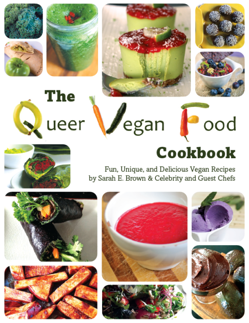 Queer Vegan Cookbook Cover