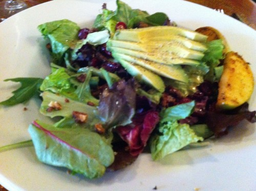 Lunch Salad at Old Stone Church, Castle Rock, CO