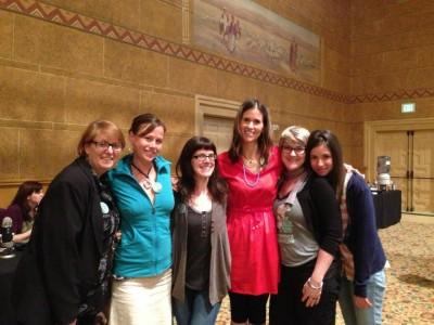 #vvc2013 Ricki, Heather, Christy, Dreena, JL and Gena