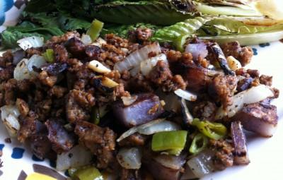 Chorizo Seitan Hash 2