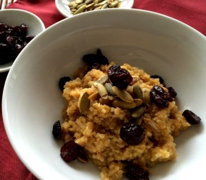 pumpkim spice porridge 2