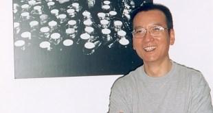 患末期肝癌的諾貝爾和平獎得主劉曉波病逝。(《零八憲章》網頁圖片)