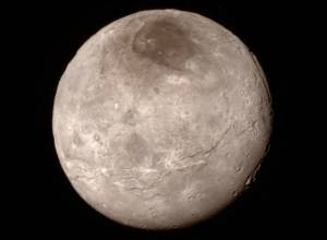 Charon's topology, at a distance of 289,000 miles