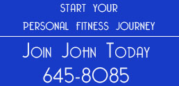 Join John Today - Home Page