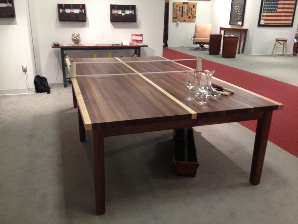 Congenial Associates Maybe You Have A Loft Space Improved Game Room J Myers Need To Have Furniture That Has Multiplections This Custom Wood Ping Pong Table Could Easily Be Used As A New houzz-03 Game Room Furniture