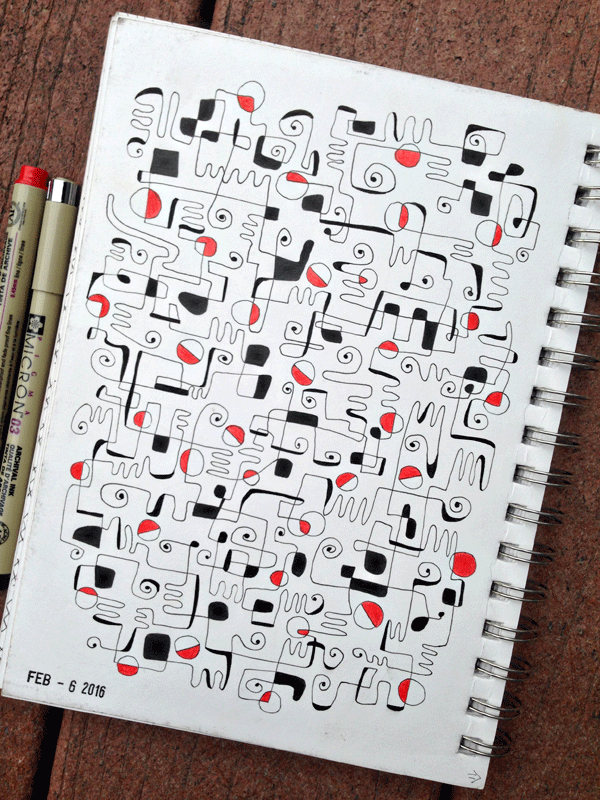 Daily Drawing Practice: 2016 Mid Year Roundup