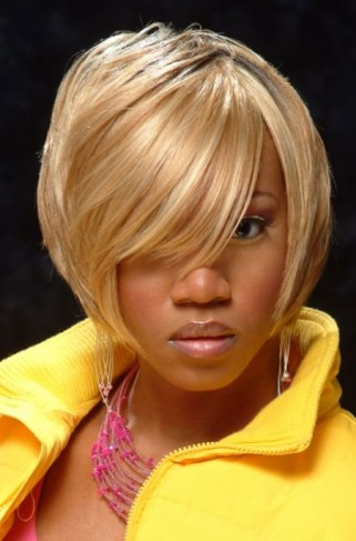 african-american-short-hairstyles-blonde-bob