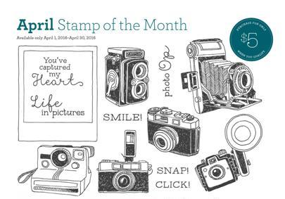 2016 april stamp of the month ctmh