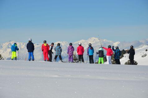Die Skifreizeiten haben eine lange Tradition am Jochgrimm