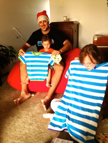 Stripy PJ's