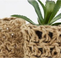 Crocheted Planter from My Very Own Eye Goggles