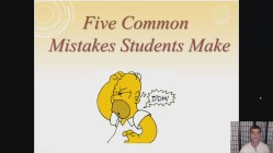 5 Common Mistakes Students Make