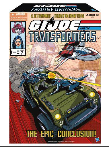G.I. Joe vs. Transformers SDCC 2013 exclusive set