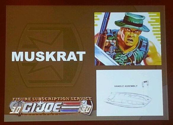 G.I. Joe Collector's Club FSS 3.0 Muskrat