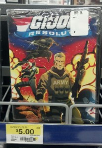 G.I. Joe Resolute DVD