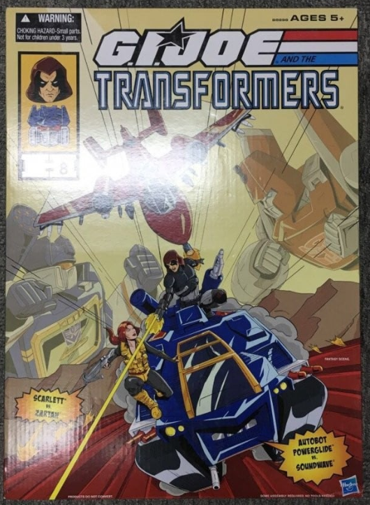 SDCC 2016 gijoe vs transformers cover