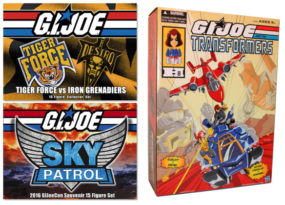 Gi joe convention exclusive reviews