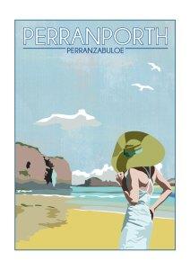 Perranporth Poster
