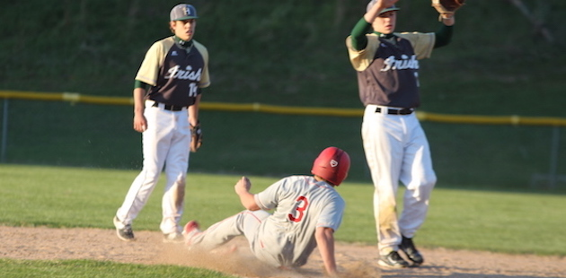 Constantine baseball settles for split with Hackett after Game 2 heroics in the seventh