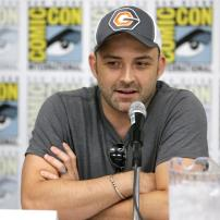 "Director Joaquim Dos Santos speaks at DreamWorks Animation ""Voltron"" Panel at 2016 Comic-Con on Thursday, July 21, 2016, in San Diego, Calif. (Photo by Eric Charbonneau/Invision for DreamWorks Animation/AP Images)"