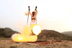 Our founder performs the traditional summer solstice gundance.