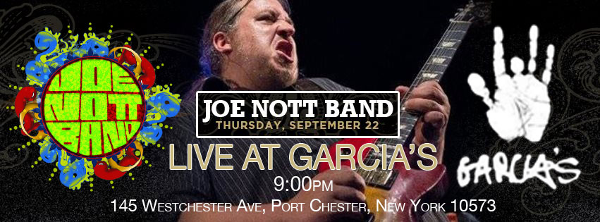 Joe Nott Band Live At Garcia's September 22nd, 2016