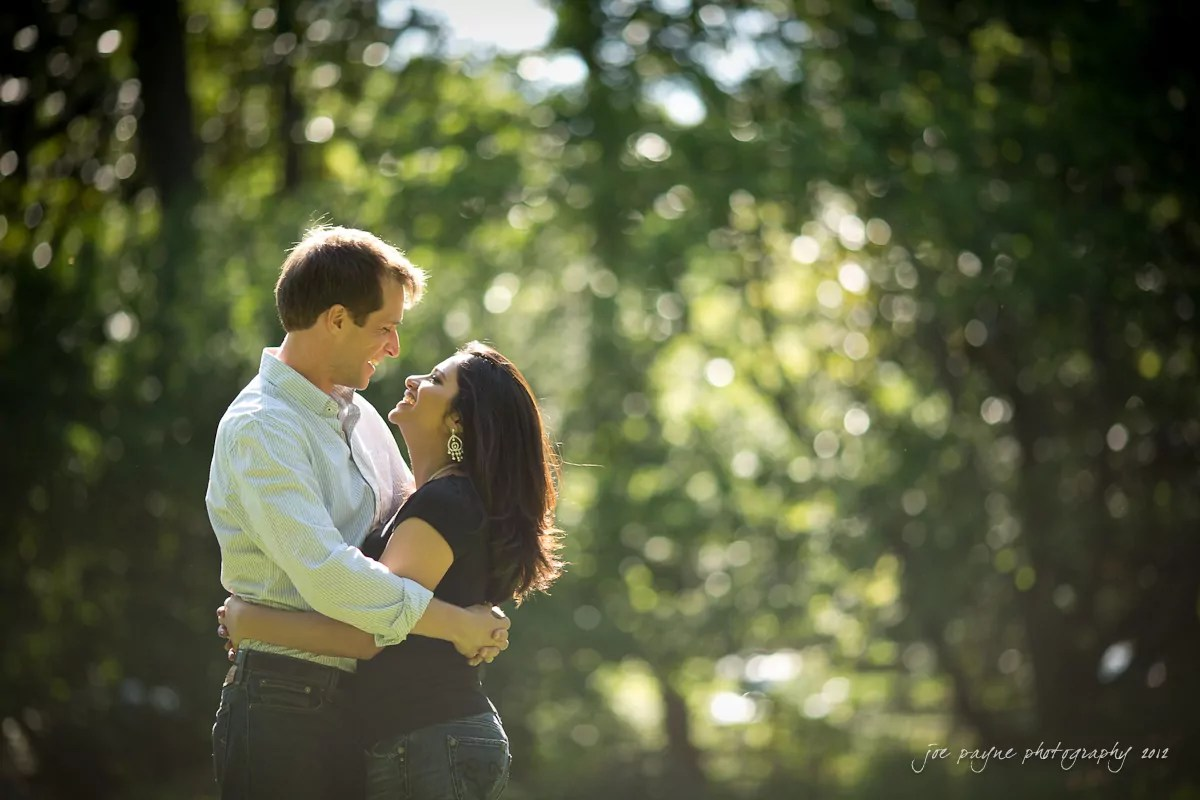 unc chapel hill engagement session ~ thelsa and phil