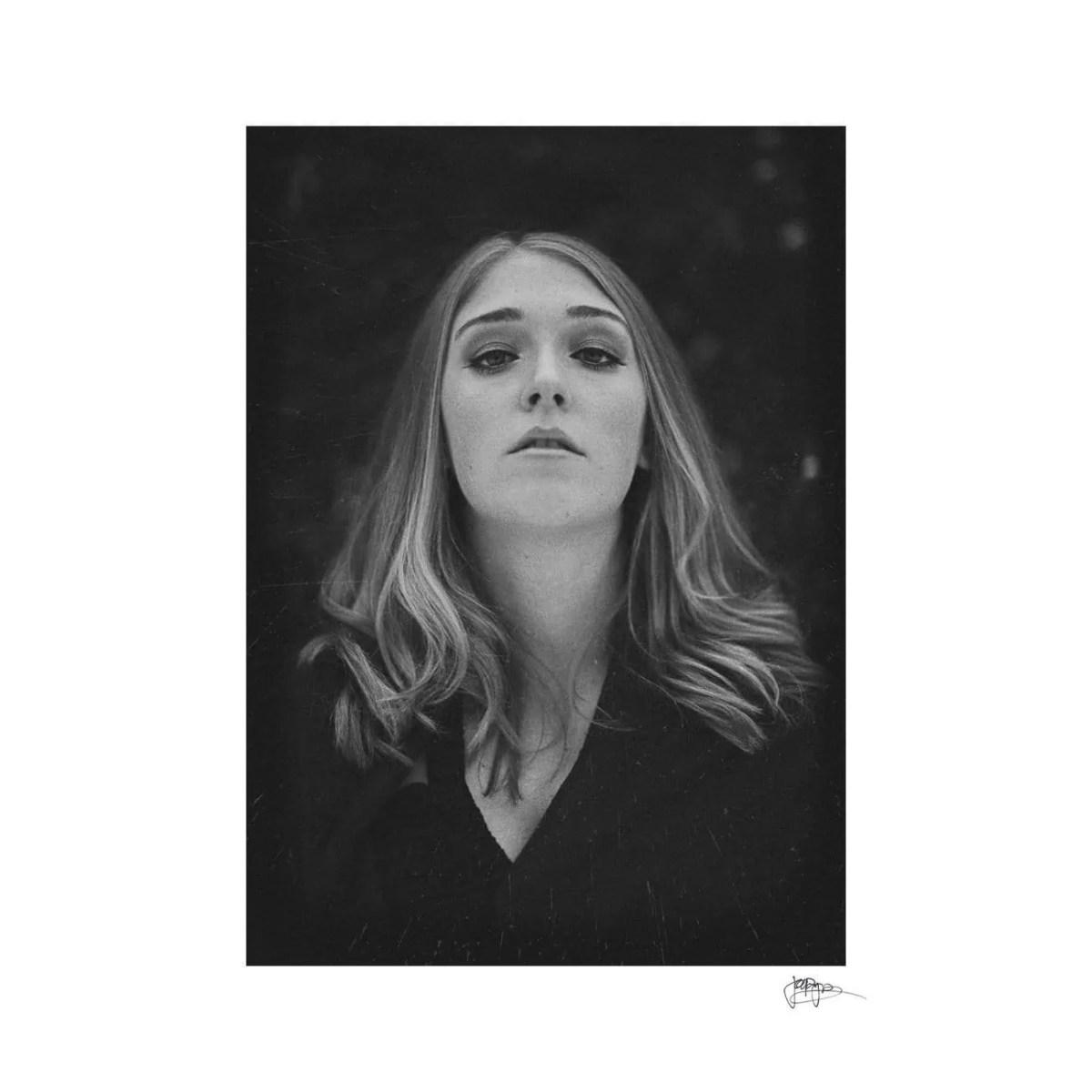 raleigh portrait photographer creative B&W