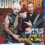 John 5 and Brendon Smalls in October 2012 Guitar Player magazine