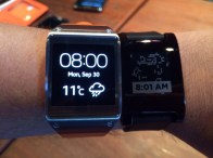 Gear vs Pebble