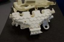 Car part 3D printed in nylon