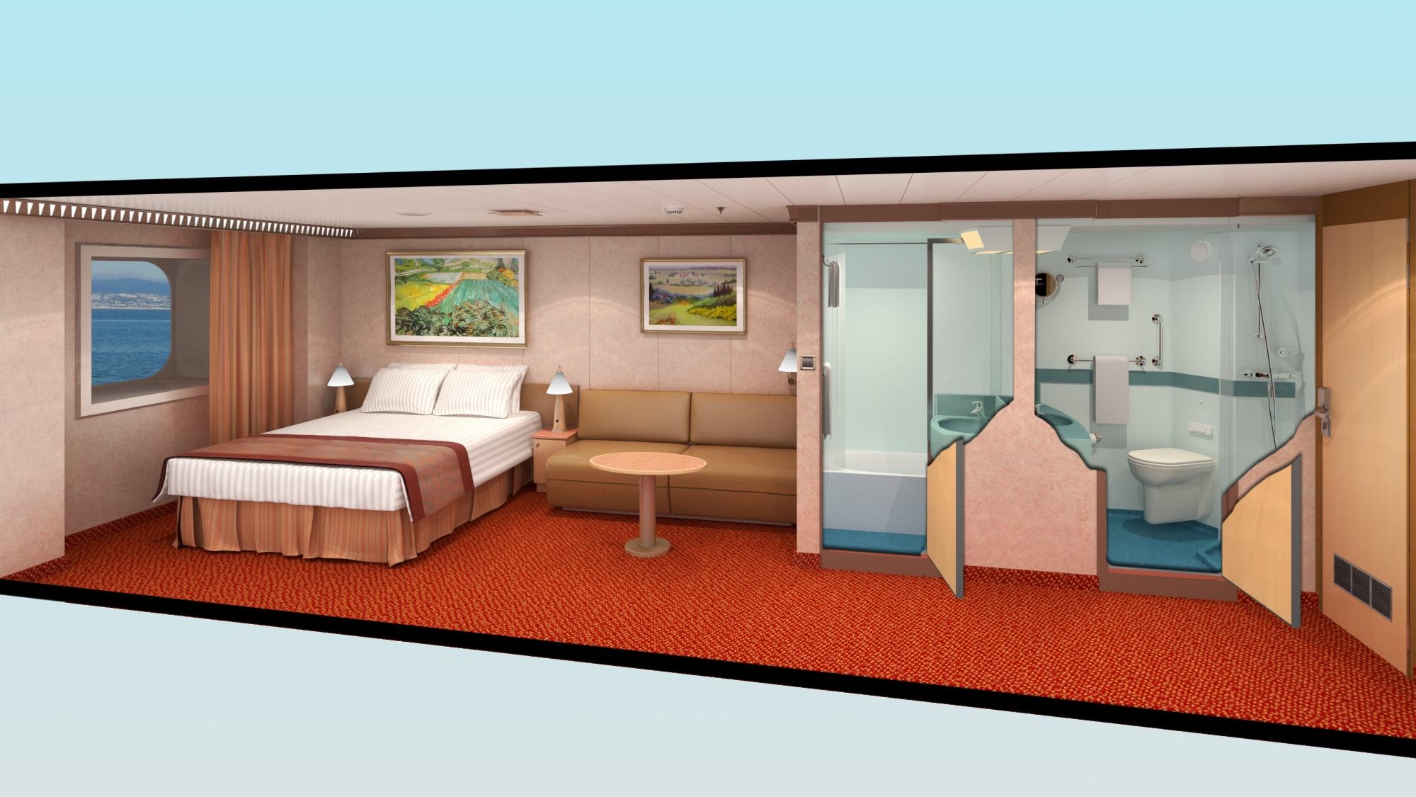 Carnival Conquest Room Layout Book Covers