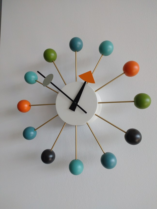 Interesting clock