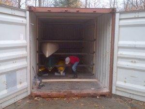 canoe storage