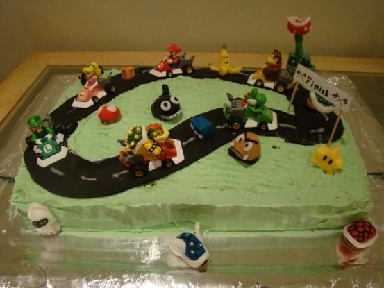 Super Mario Kart Cake