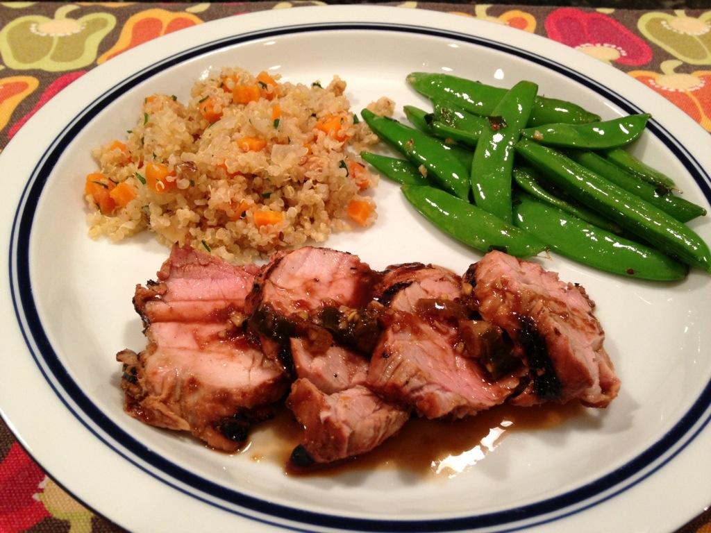 Sauteed Pork Tenderloin With An Asian Flare Recipes — Dishmaps