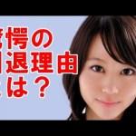 【いつの間に…】堀北真希、引退理由は事務所との確執か!?→真相をご覧ください・・・ #アイドル #idol #followme