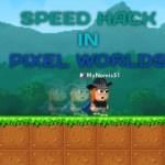 How To Speed Hack in Pixel World #アイドル #idol #followme